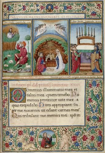 014- Salterio del sur de Italia- siglo XV-HM 1041 Huntington Library