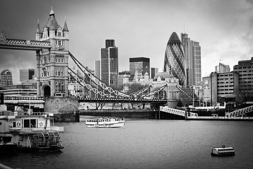 Tower Bridge & Gherkin