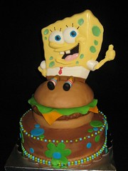 Sponge Bob cake by Kathy J