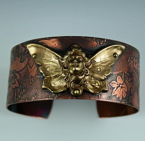 butterfly woman cuff