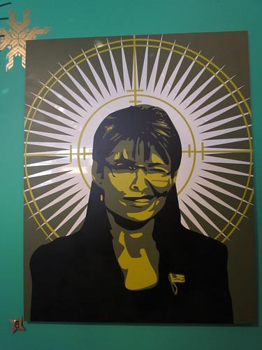 Sarah Palin  - stencil