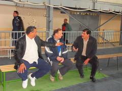 aggadi boudjemaa , fekhar bachir et chikou djamel : quelque vtrans prsents (m_bachir-   -) Tags: 3 sport algerie om handball medea       ouldramoul