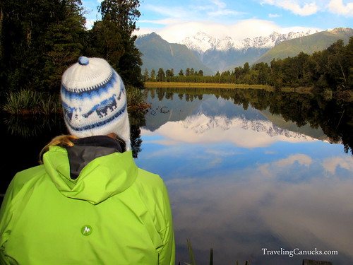 Lake Matheson, Mount Cook, Southern Alps, New Zealand