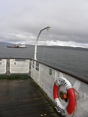 Clyde streakers (Sunset Dan) Tags: life uk travel blue sea sky water jock ferry last river scotland clyde boat movement waves ship scottish craft vessel scot farewell saturn goodbye jupiter calmac farwell higlands mv caledonian macbrayne caledonianmacbrayne enland mvjupiter life lens clamac dan daniel dunnoon sunset dan scottishferry 030411 hitchens sunsetdan lifeinalens jupiterslasttrip hebrideanclydeferries herbridean