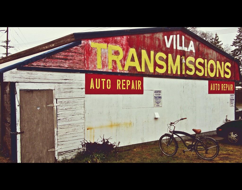 Auto transmission repair shop