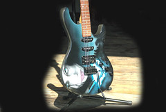 Mad guitar (alison-arts) Tags: electric guitar underworld airbrush airbrushed