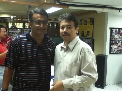 Encik Najib Wahab & Collin Madhavan by nc2011webmaster