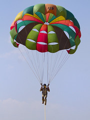 Parasailing at Ramtek