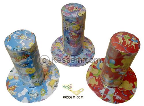 DIY Cylinder Hat Loot Bag 1