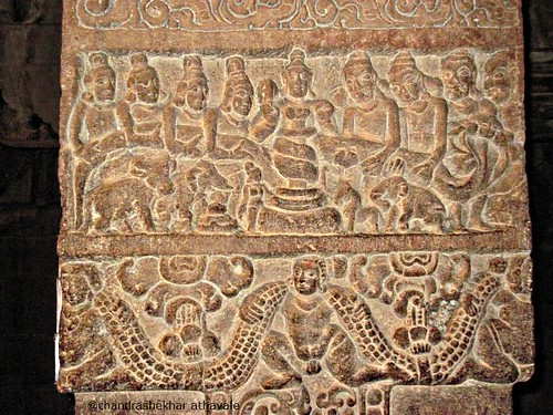 Samudra manthan Virupaksha temple