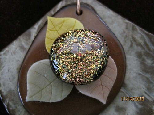 Beach time pendant by Dyanate Designs