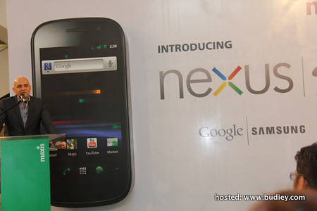 Maxis Launch Nexus S