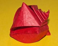 Spiral Snail Shell (cjbnc) Tags: origami toshikazukawasaki origamifortheconnoisseur