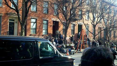 "Filming: ""Extremely Loud and Incredibly Close"""