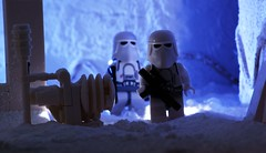 Blizzard Force (Blockaderunner) Tags: death star back force lego echo empire wars blizzard base strikes hoth squadron snowtrooper