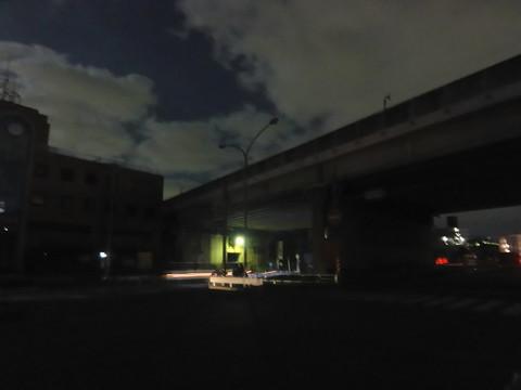 上永谷停電