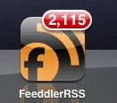 FeeddlerRSS icon