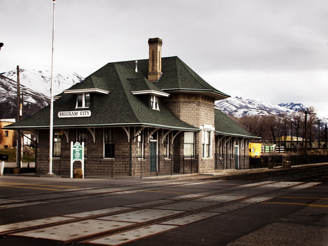 Brigham City Train Station