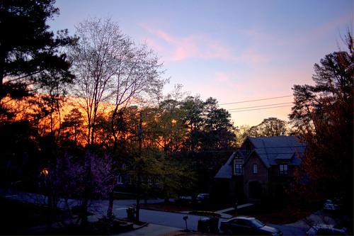 blue sky noise. lue sky noise. large | last fm. 128/365. the sky was on fire. 3 image hdr