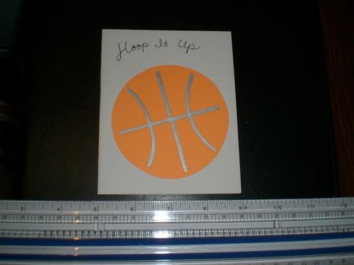 lbk card creations card birthday  basketball, Birthday card