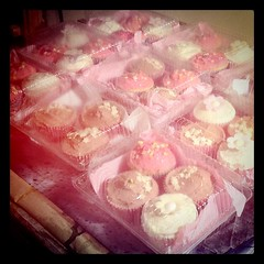 How I spent my evening lol sooo many cupcakes (for orders, not me)