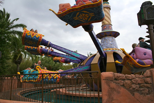 Aladdin's Magic Carpets