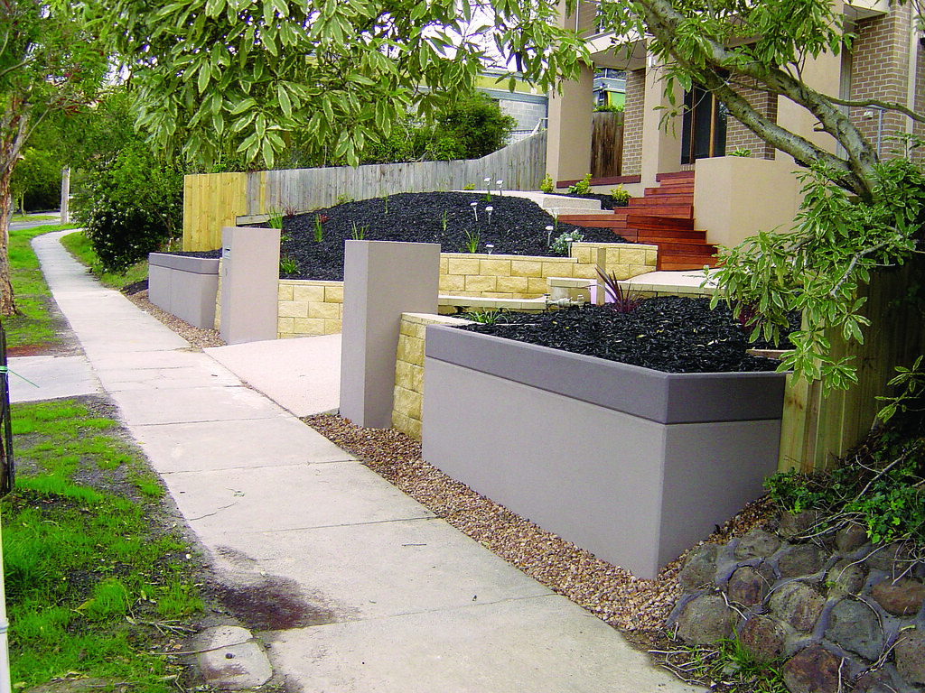 Front Yard Retaining Wall Ideas Part - 22: Image Gallery