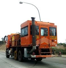 Caltrans Work Truck (1) (Photo Nut 2011) Tags: california truck freeway caltrans 12008 roadstripingvehicle