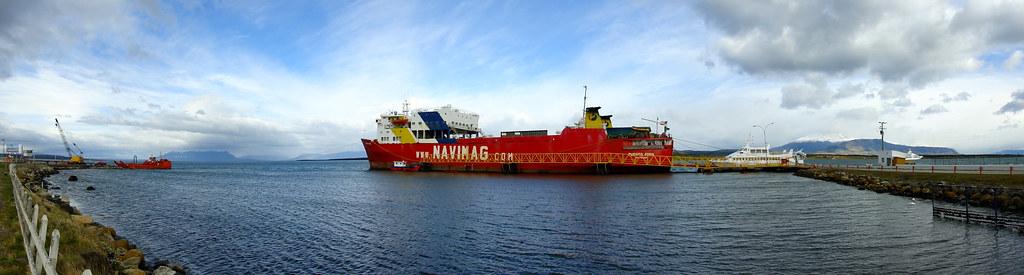 Navimag's Puerto Eden in Puerto Natales