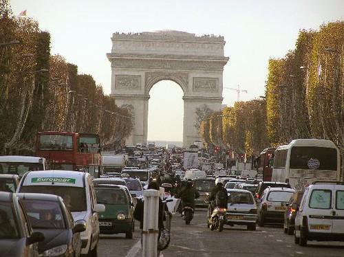 trafico en paris