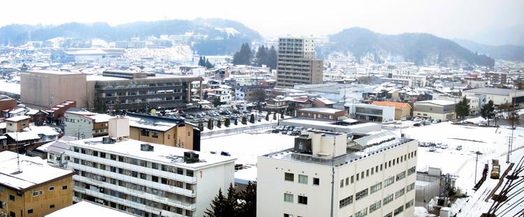 Hotel View from Ohan Hotel, Takayama