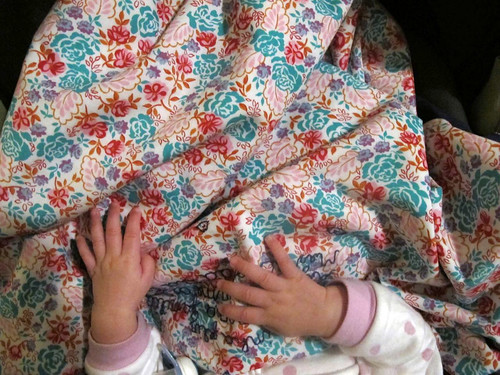 Baby blanket in use I