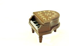 Vintage Music Box (badzmanaois) Tags: old music vintage toy wooden keyboard artistic box antique decoration piano carving musical instrument