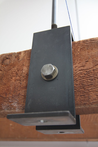 Attic wall bracket