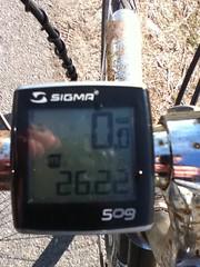 A marathon of riding