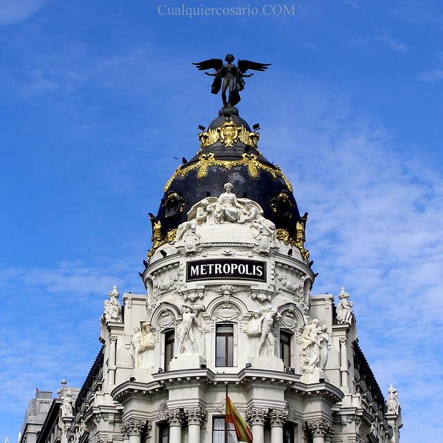 Por los cielos de Madrid