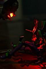 Eva Unit 01 is silent (kyreii) Tags: evangelion revoltech