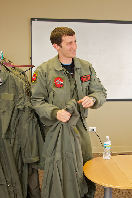 Picking a flight suit