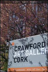 Crawford Art gallery in the spring