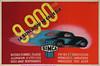 Cassandre Simca 9900 Frs 40X59 Draeger