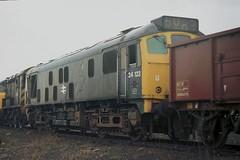 gb_770403_24123 copy (MUTTLEY'S PIX) Tags: train rat br rail loco britishrail sulzer 5123 24123 class24 originalscan doncasterworks d5123