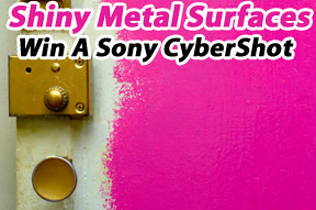 Lenzr photo contest April and May for Shiny metal surfaces thanks to metal panels company