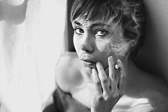 Vecchi difetti (mickiky) Tags: selfportrait me window myself blackwhite cigarette smoke smoking finestra autoritratto remotecontrol ritratto biancoenero autoscatto fumo sigaretta