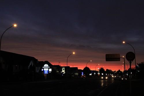 Ulster Street at Dusk
