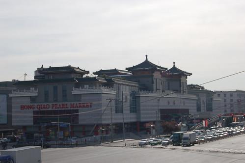 Perlenmarkt neben dem Himmelstempel