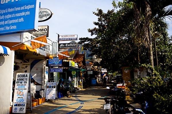 Shops at Ao Nang