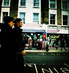 My London Image (mi..chael) Tags: life street people london lomography toycamera lofi slidefilm chrome crossprocessing analogue traveling vignette nottinghill 135mm diafilm ebx100  bristish  dianamini