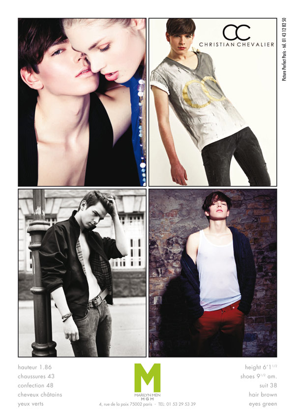 Christian Haase0016_SS12 Paris Show Paclage MGM(MODELScom)