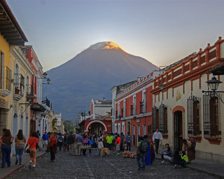 Ocaso en Antigua / Sunset in Antigua
