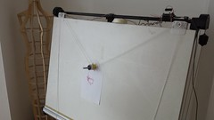Polargraph at MAKLab (nand_) Tags: pen drawing board graph sharpie polar plotter arduino drawingboard polargraph maklab polarplotter